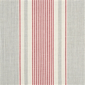 French Ticking - Clay, Damson