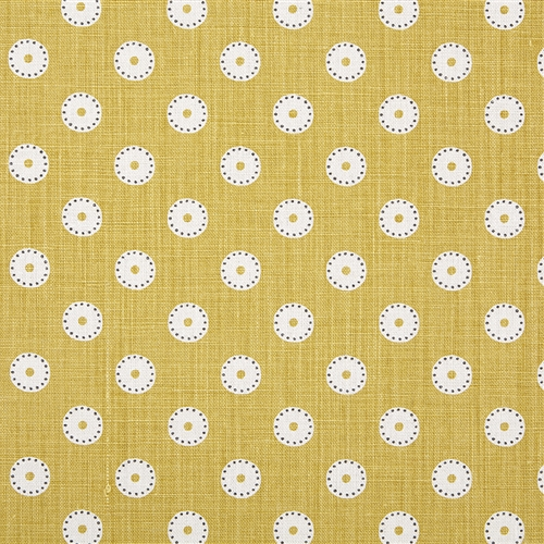Pretty Maids Oilcloth - Saffron and Winter
