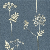 Cow Parsley - Cornflower, Duck Egg