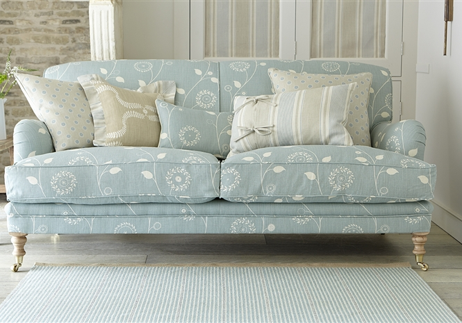Designer Fabric Sofas Traditional Classic Upholstered
