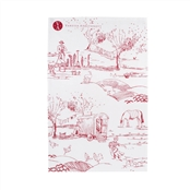 For The Love of Rose - Tea Towel - Raspberry