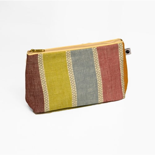 Scandi Stripe - Washbag - Warm