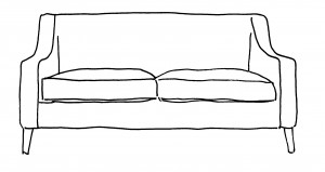 Sofa drawings - chedworth