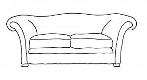 Sofa drawings - classical
