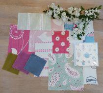 May & June Moodboard – pinks and greens