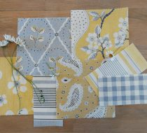 July Moodboard – Soft Yellows and Greys