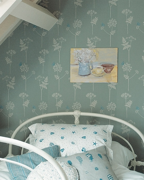 Contemporary Vintage Printed Wallpapers Coverings Uk Vanessa Arbuthnott