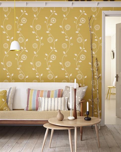 Wall fabric coverings   Wallpaper coverings - Vanessa Arbuthnott