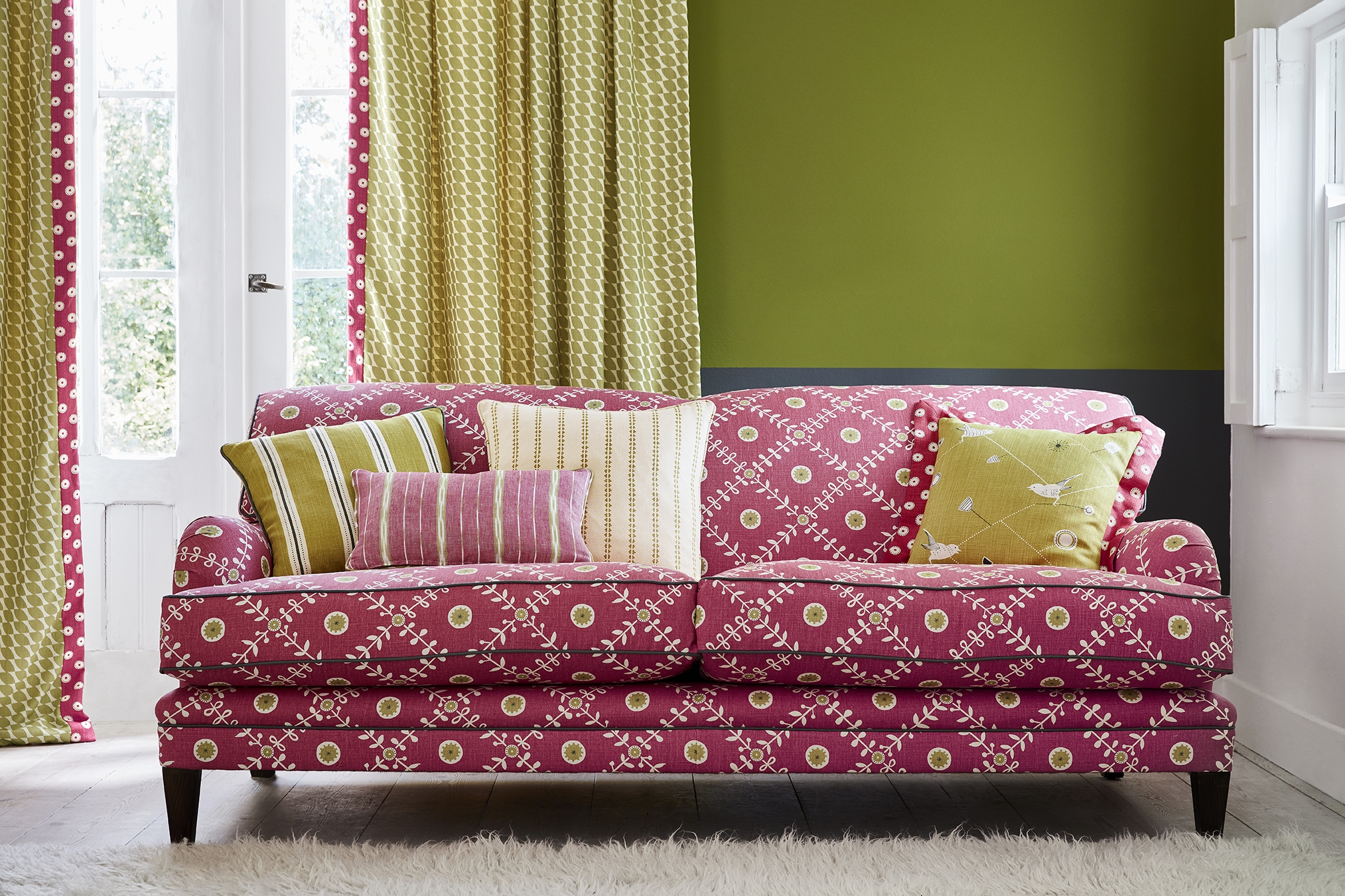 Designer Traditional Sofas Made With Luxury Fabric ...