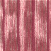 Stripe and Dash - Cranberry