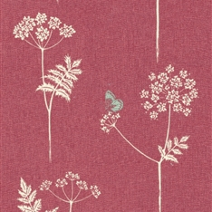 Cow Parsley - Cranberry, Stone
