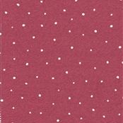 Plain Dotty - Cranberry