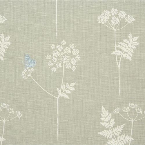 Cow Parsley - Pigeon, Teal