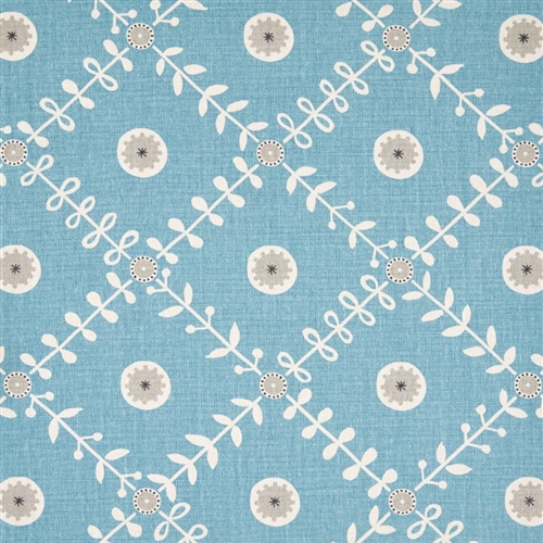 Fruit Garden - Powder Blue, Pigeon, Charcoal