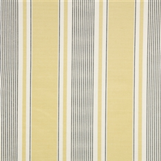 French Ticking - Dark Hay, Charcoal