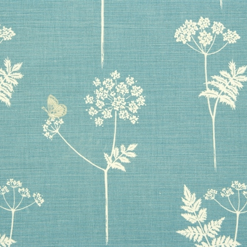 Cow Parsley - Teal, Pigeon