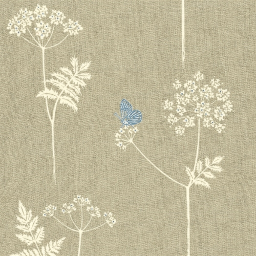 Cow Parsley - Stone, Cornflower