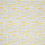Hand Printed Stripe - Clay, Lemon - D
