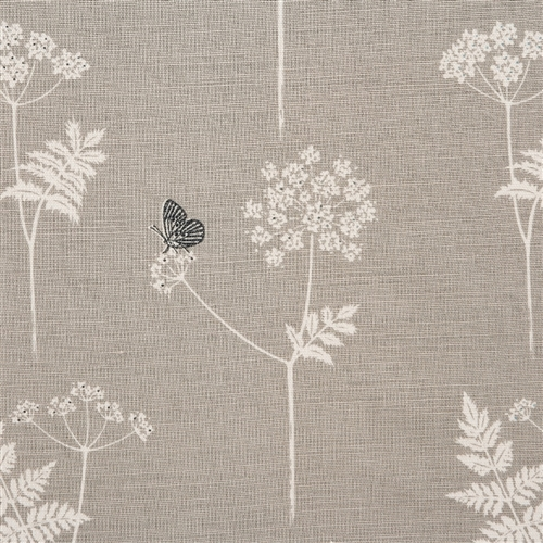 Cow Parsley - Dove, Charcoal