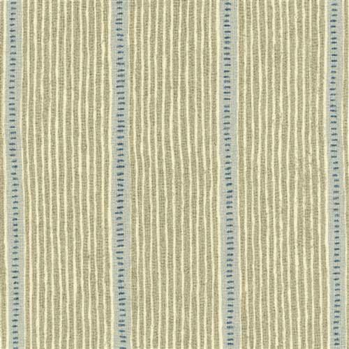 Stripe and Dash - Stone, Duck Egg, Denim