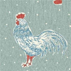 Cockerel & Spot - Duck Egg, Sky Blue, Raspberry