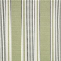 French Ticking - Field Green, Charcoal