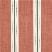 Stockholm Stripe - Terracotta, Charcoal, Winter