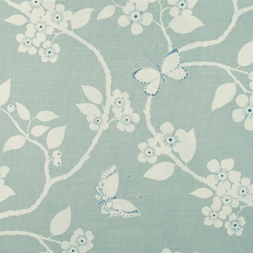 Flora & Fauna - Duck Egg, Denim