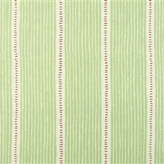 Stripe and Dash - Apple Green, Raspberry