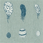 Feather & Egg - Duck Egg, Denim