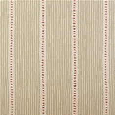 Stripe and Dash - Limestone, Raspberry