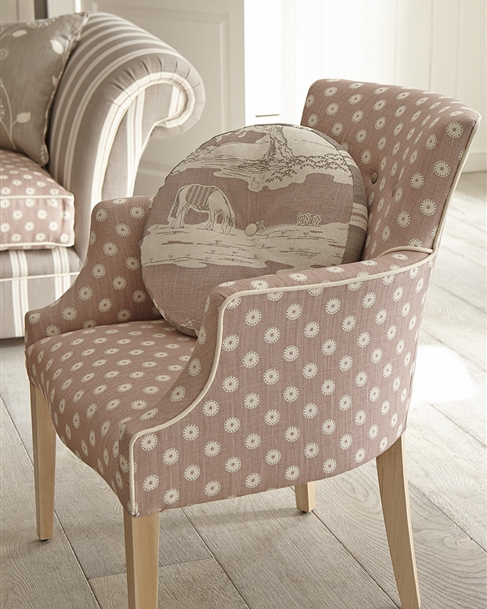 Upholstered Chairs | Fabric Chairs UK - Vanessa Arbuthnott