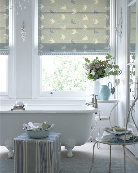 Made To Measure Roman Blinds Uk Vanessa Arbuthnott