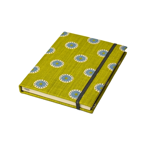 Pretty Maids Notebook - Lime, Teal, Winter
