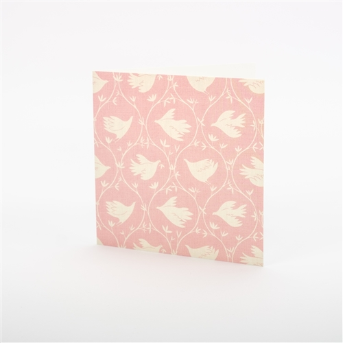 Note Card - Branching Out - Lily Pink