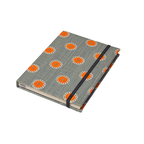 Pretty Maids Notebook - Duck Egg, Pumpkin, Winter
