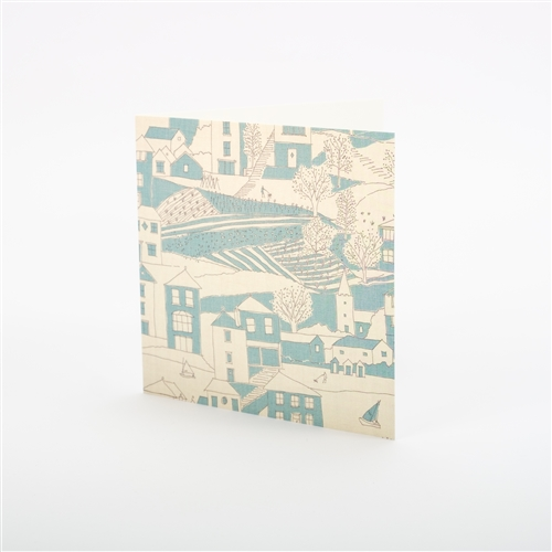 Note Card - By the Sea - Teal