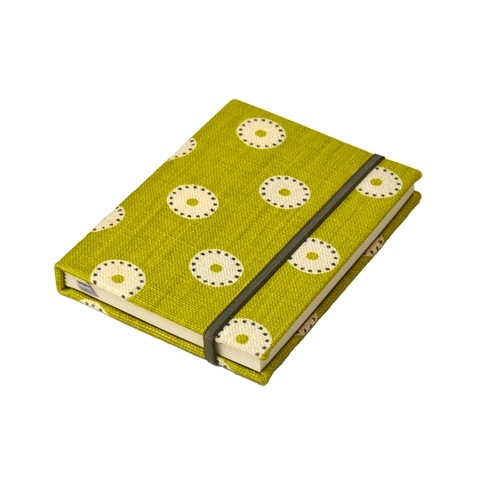 Pretty Maids Notebook - Lime Winter