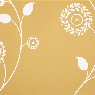 Gypsy Garland - Wall Covering - Saffron );