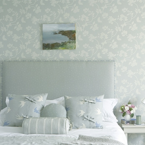 Flora & Fauna - Wall Covering - Duck Egg