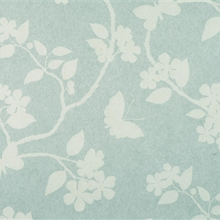 Flora & Fauna - Wall Covering - Duck Egg );
