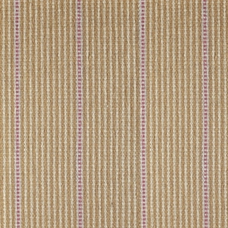 Stripe and Dash Rug - Mouse, Cranberry - Large