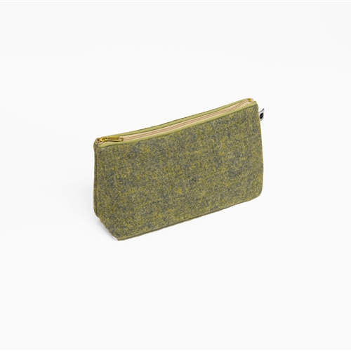 Harris Tweed - Washbag - Grass