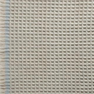Honeycomb Blanket - Powder Blue);