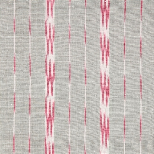 Roller Blind in Baltic Stripe Clay, Sweet Pea (157cm x 115cm)