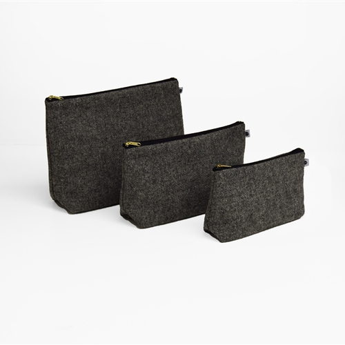 Harris Tweed - Washbag - Storm