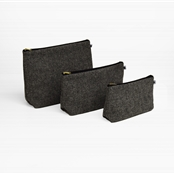 Harris Tweed - Wash Bag - Storm
