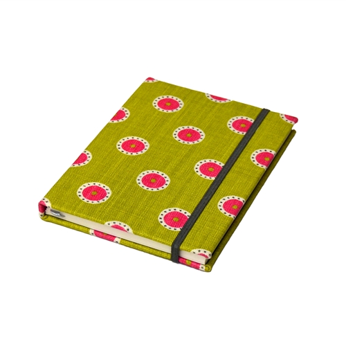 Pretty Maids Notebook - Sweet Pea, Lime, Winter