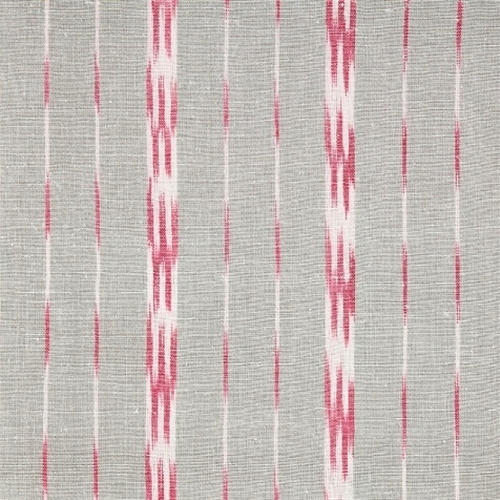 Roman Blind - Baltic Stripe Clay and Sweet Pea