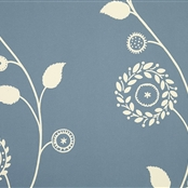 Gypsy Garland - Wall Covering - Cornflower